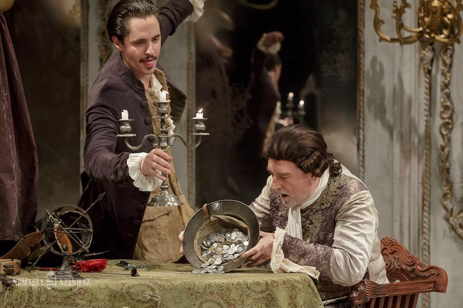 Házasság Palermóban címmel Goldoni-darabot játszik a Nemzeti Színház