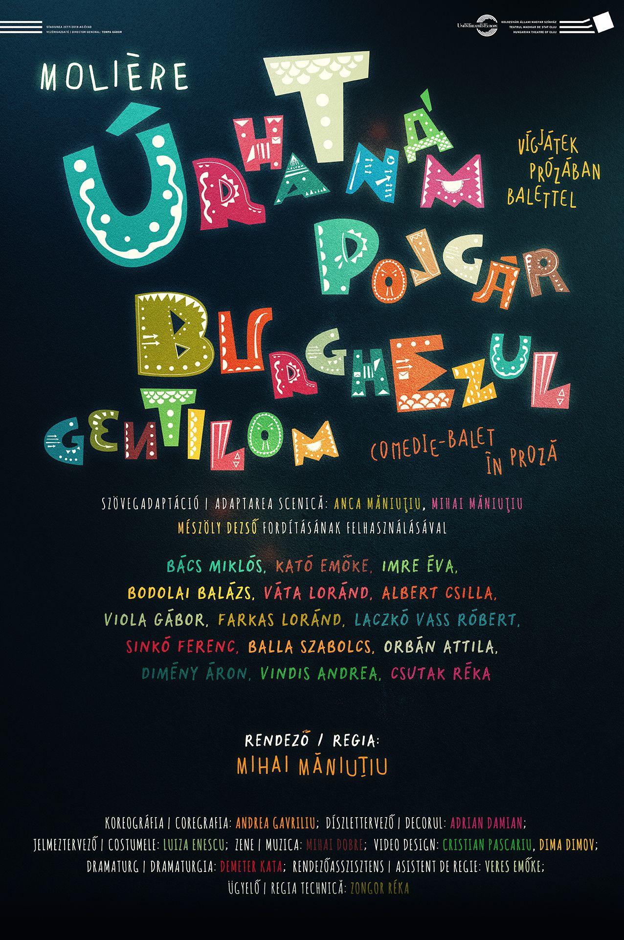Az Úrhatnám polgár bemutatójára készül a kolozsvári magyar színház