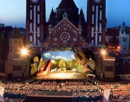 Újabb Dóm téri előadásokat hirdetett meg a Szegedi Szabadtéri Játékok
