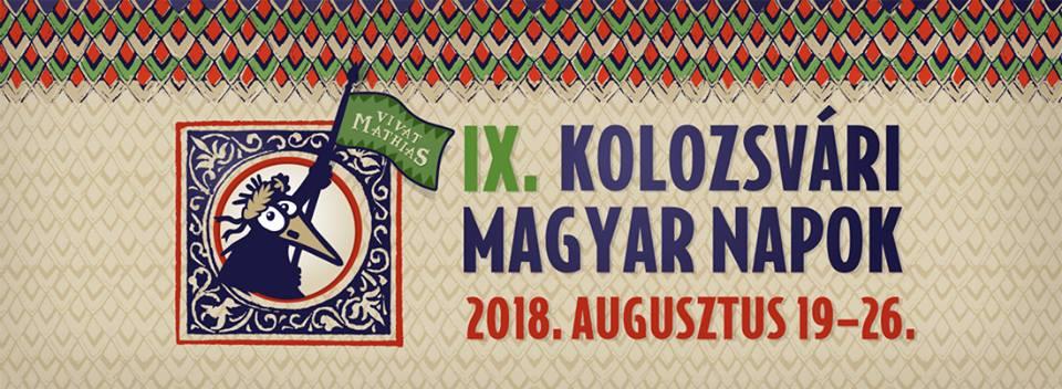 Rekordszámú program a Kolozsvári Magyar Napokon