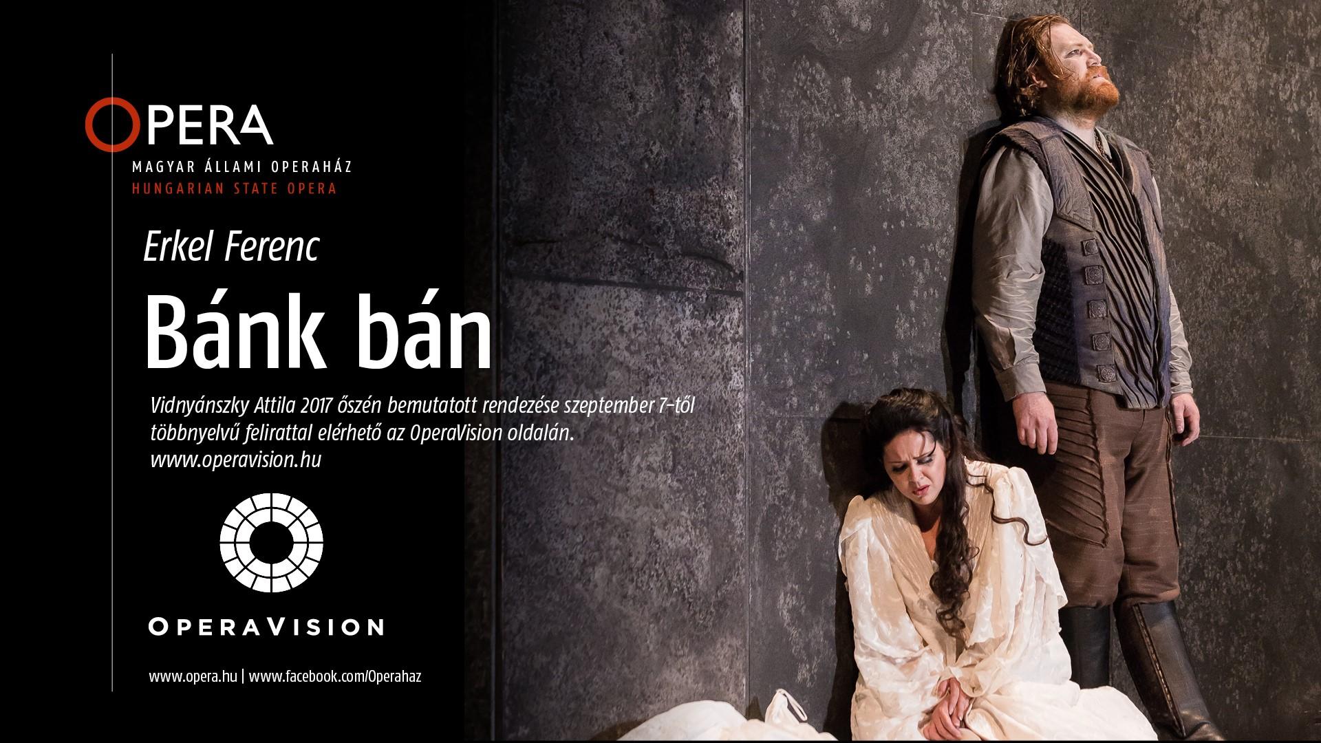 Vidnyánszky Bánk bán-rendezése fél éven át az OperaVision weboldalán