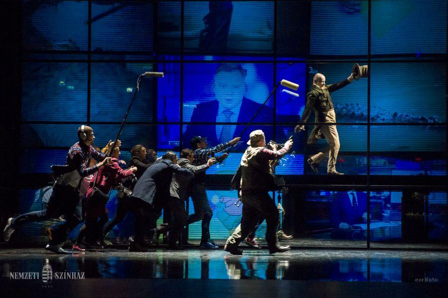 Moszkvában mutatta be A krokodilust a Nemzeti Színház társulata