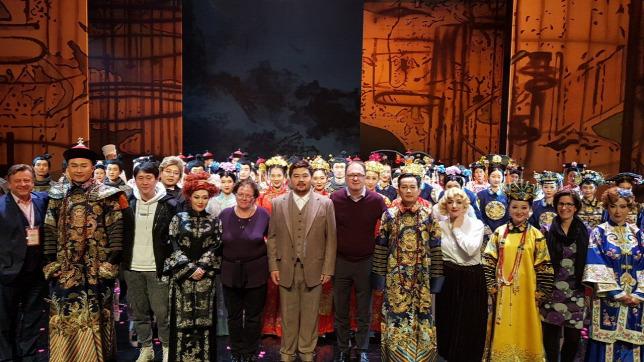 Sikerrel mutatták be Lehár Ferenc nagyoperettjét Kínában