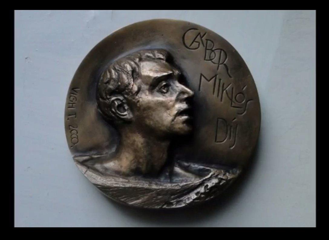 Nagypál Gábor kapta az idei Gábor Miklós-díjat