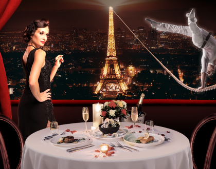 Párizsi randevú – Vacsorával egybekötött előadás az Operettszínházban