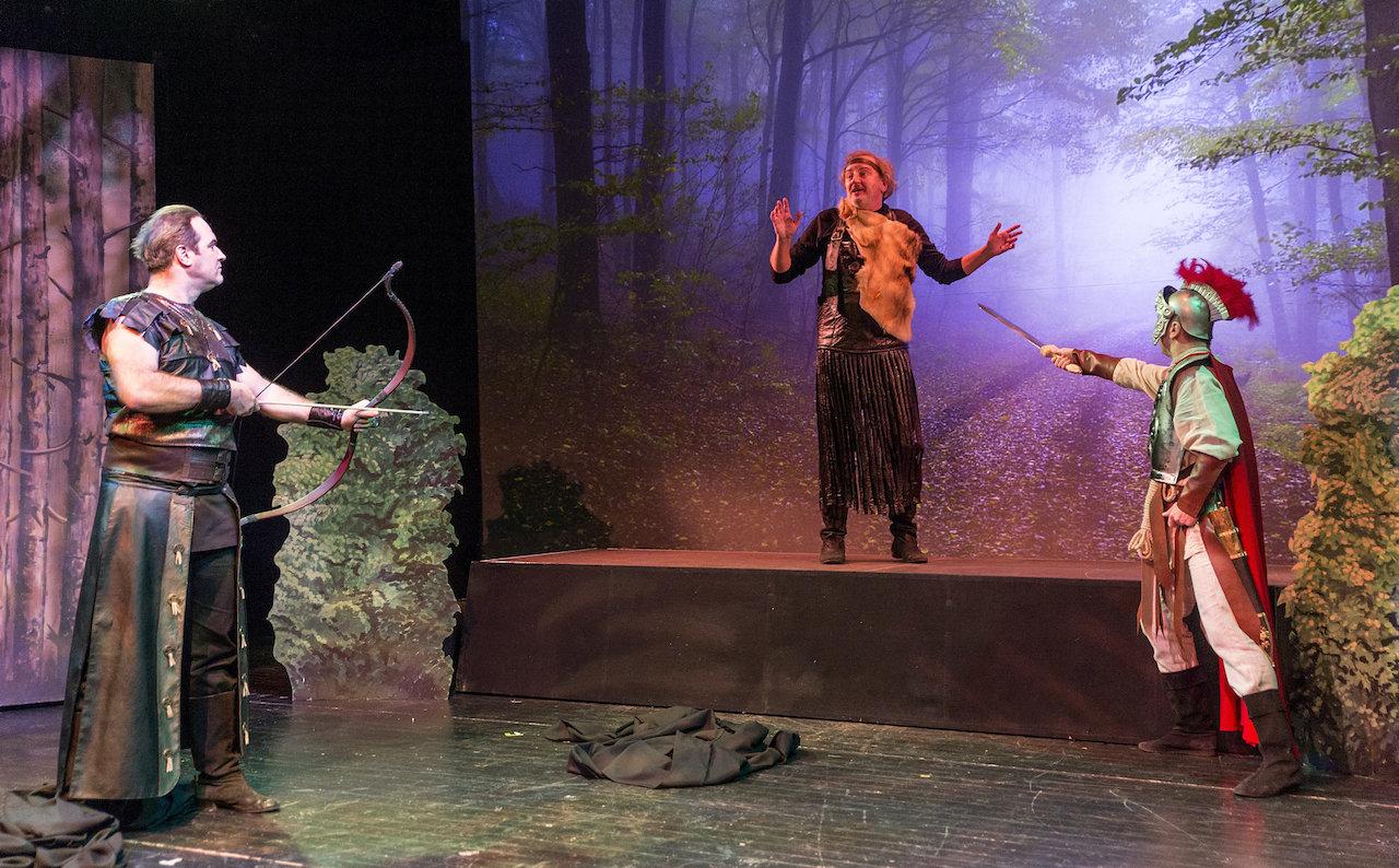 A Róma réme című zenés színmű bemutatója Győrben