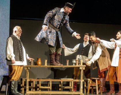 Az Egri csillagok történelmi musical bemutatója