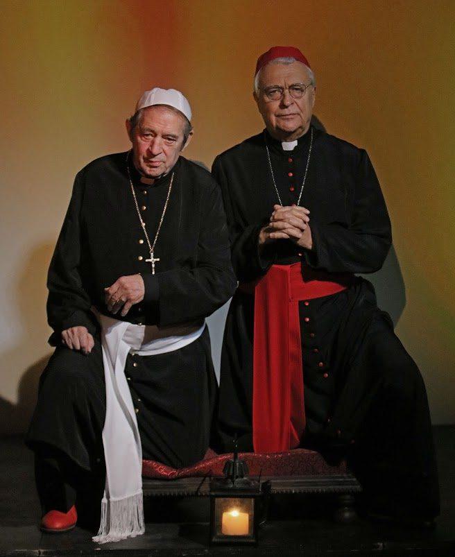 A két pápa – magyarországi bemutató a Rózsavölgyi Szalonban